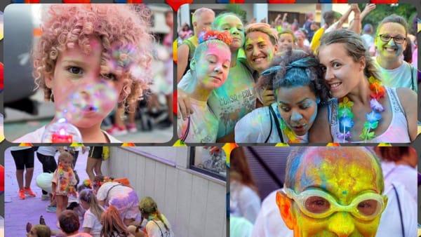 A Mattinata la corsa dei colori, l'evento più allegro e colorato dell'estate