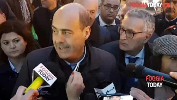 """Zingaretti tira la volata al PD di Foggia. E su Di Gioia (che vota Lega): """"Ha un problema con se stesso"""""""