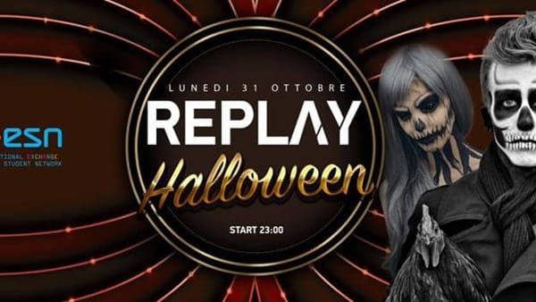 Halloween Party Erasmus al Replay Club