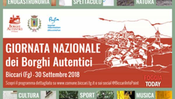 Anche a Biccari la Giornata nazionale Borghi autentici d'Italia