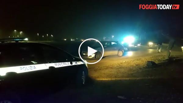 VIDEO | Rocambolesco incidente alla rotatoria tra la Tangenziale e viale degli Aviatori: due auto coinvolte