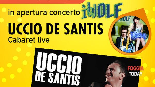 A 'La Città del Cinema' la travolgente comicità di Uccio De Santis e il suo live-cabaret