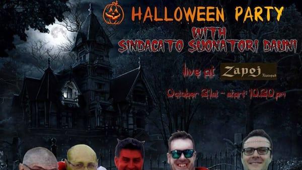 Halloween Party allo Zapoj insieme al Sindacato Suonatori Dauni
