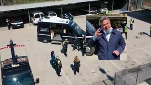 """Landella blinda Foggia anche dall'alto: arrivano i droni a Pasqua e Pasquetta: """"Non vi venga l'idea di uscire"""""""