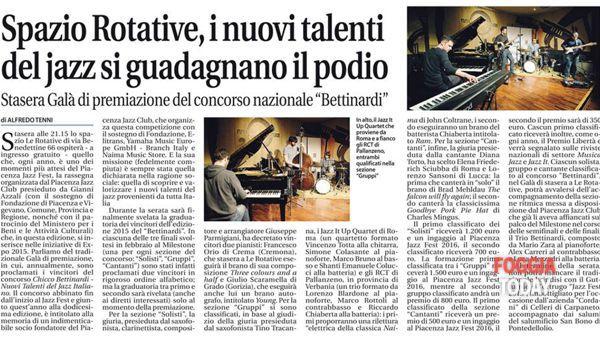 Jazz It Up Quartet al 'San Severo Winter Jazz'