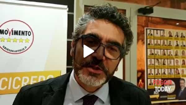 """Urne chiuse, il Movimento 5 Stelle sogna. Quarato: """"Foggia ci ha dato fiducia, andiamo al ballottaggio"""""""