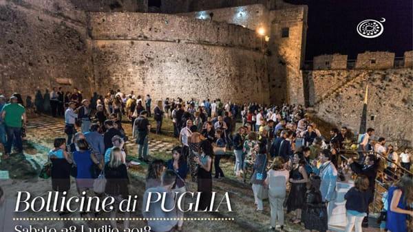 Il Castello di Monte Sant'Angelo ospita la terza edizione di 'Bollicine di Puglia'