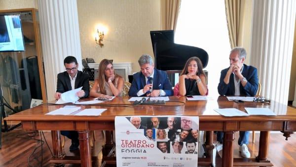 """Foggia si fa grande con la Cultura, il suo lato più bello nel cartellone del Giordano: """"E' fiore all'occhiello della Puglia"""""""