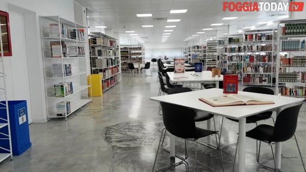 """Foggia riabbraccia la sua biblioteca: ecco il nuovo look de 'La Magna Capitana'. """"E' una bella giornata per la Puglia"""""""