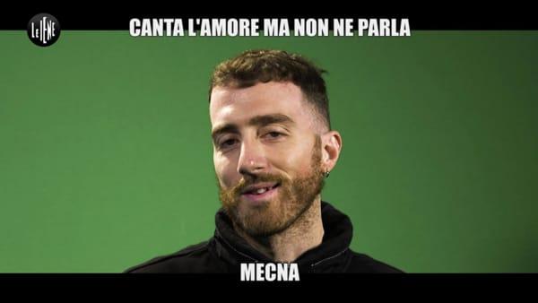 """Foggia a 'Le Iene' con Mecna. Il rapper tranchant: """"Io il più forte a scrivere melodie"""""""
