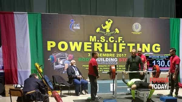 Pioggia di trofei per la palestra Olympian'club di Carapelle che si è distinta nel campionato italiano M.S.C.F. di Powerlifting.-4