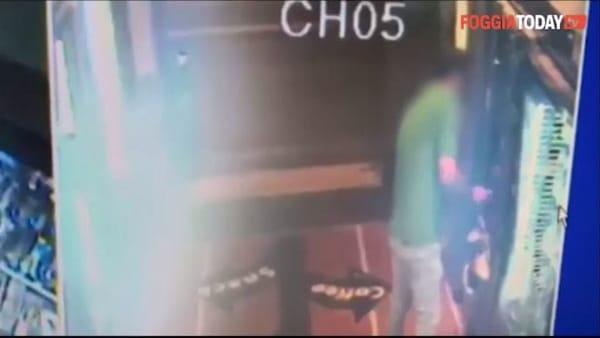 VIDEO   Furto in via Arpi, entra in azione tre volte in una notte: ecco il ladro immortalato dalle telecamere