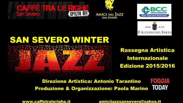 Il San severo Winter Jazz riparte: riecco la nuova edizione al 'Caffè tra le Righe'