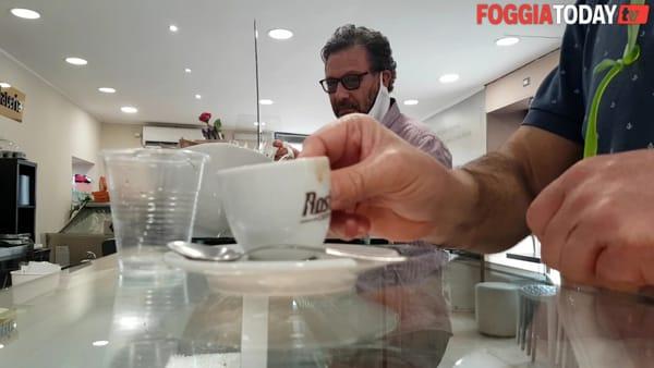 """Foggiani al bar, il caffè torna in tazza e al bancone. Lorusso: """"La paura è che le spese siano superiori alle entrate"""""""