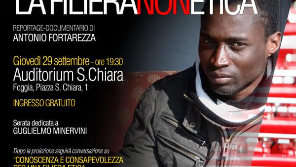 """""""La filiera (non) etica"""": a Foggia la rassegna organizzata da CinemaFelix"""