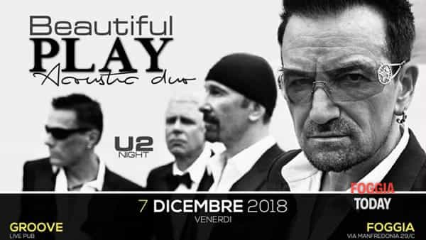 Beautiful Play U2 & Coldplay Semi-Acoustic Duo al Groove Live Foggia