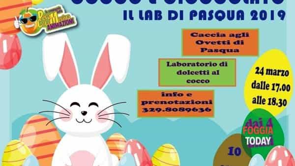 Cocco e cioccolato: arriva l'appuntamento per partecipare ad una festa tutta a tema pasquale