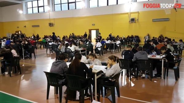 Il 'Marconi' teatro della sfida tra piccoli matematici: ben 150 ragazzi da tutta la provincia per partecipare ai 'Math games'
