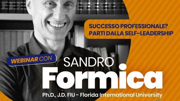 Università di Foggia: la self-leadership di Sandro Formica protagonista del 'Talent for career'