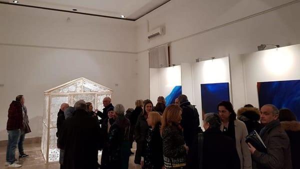 'Una e bina – l'arte dell'incontro': al Museo Civico il fine mostra di Rosalba Casmiro e Nelli Maffia