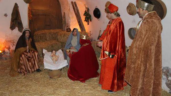 La Natività di Gesù nel centro storico di Rignano Garganico