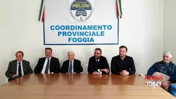 """Nuova vita per i 'Fratelli d'Italia' a Foggia, ex leghisti e forzisti pronti a rafforzare il partito. """"Emiliano? Ha già perso"""""""