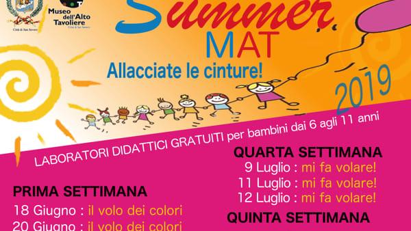 Al via Summer Mat, il ciclo di laboratori estivi per bambini al Museo dell'Alto Tavoliere