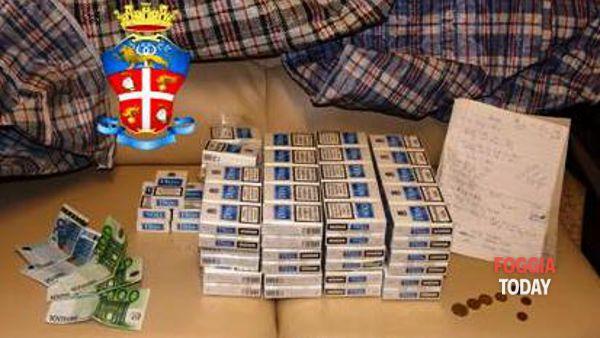 Tabacchi sequestrati a Stornarela-2