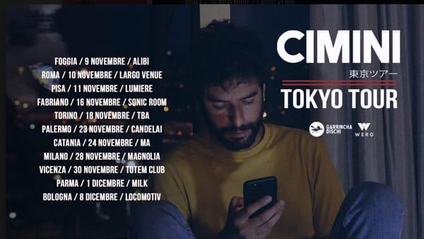 Il Tokyo Tour di Cimini parte dal The Alibi di Foggia