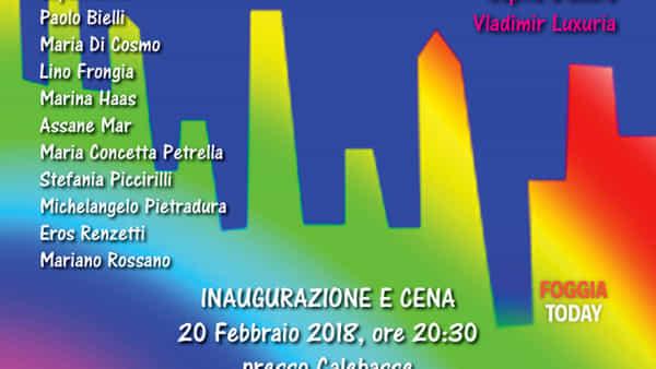 'Le città arcobaleno': a Foggia la mostra di Rocco Marino e Michelangelo Pietradura