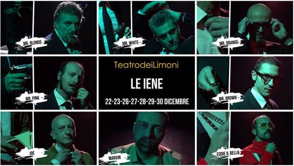 Con 'Le Iene' il Natale è pulp al Teatro dei Limoni