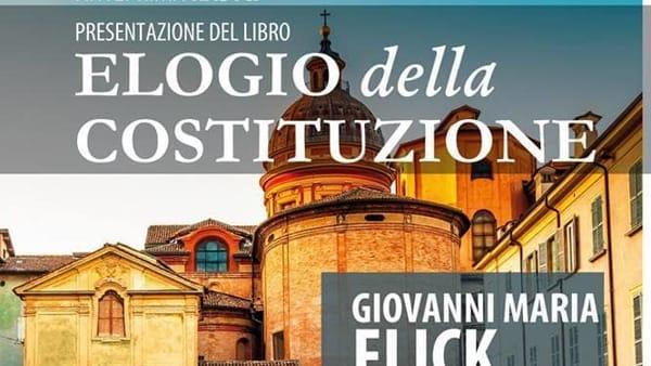 Giovanni Maria Flick, l'ex ministro presenta l'Elogio alla Costituzione a Lucera