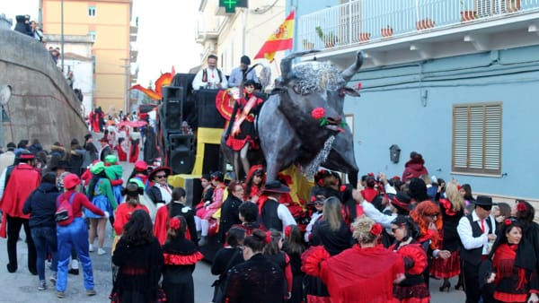 Carpino in festa per il tradizionale Carnevale