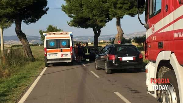 Incidente tra Lucera e Biccari