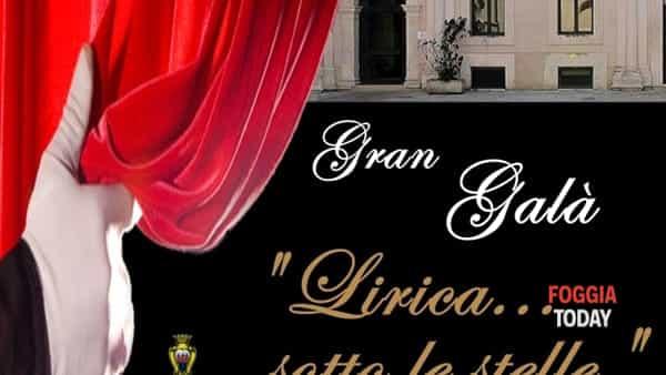 """A Foggia il gran gala """"Lirica sotto le stelle"""""""
