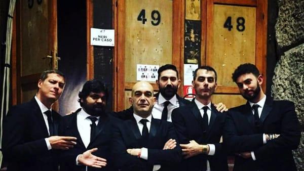 I Neri per Caso a Foggia: live in piazza Cesare Battisti