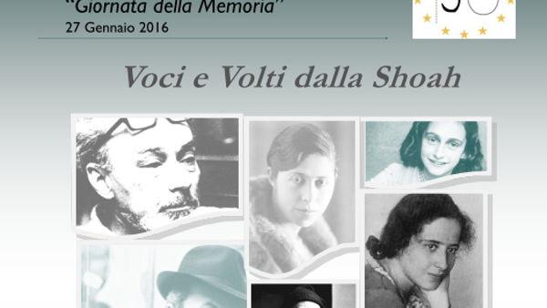 """Le voci e il volti della Shoah. Al liceo """"Marconi"""", si commemorano le vittime dell'Olocausto"""