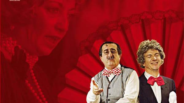 Accummugghje e scummugghje, al teatro Regio lo spettacolo di Mancini e Norillo