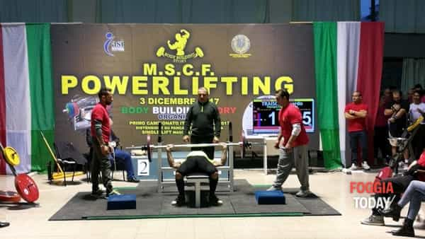 Pioggia di trofei per la palestra Olympian'club di Carapelle che si è distinta nel campionato italiano M.S.C.F. di Powerlifting.-2