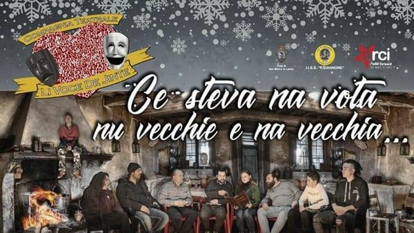 "Natale a teatro: a San Marco in Lamis ""Ce steva na vota nu vecchie e na vecchia…"""