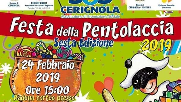 """A Cerignola la sesta edizione della """"Festa della Pentolaccia"""""""