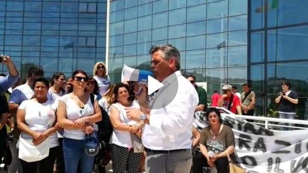 """VIDEO   Foggia chiede case e rispetto a Bari. Landella tuona: """"Presi in giro da Emiliano, ma ora diciamo basta"""""""