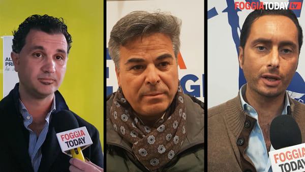 In tre per la leadership del centrodestra di Foggia: intervista tripla ai candidati sindaco Iaccarino-Landella-Miranda