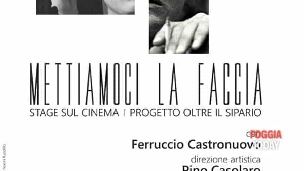 A Foggia 'Mettiamoci la faccia', lo stage sul cinema con Ferruccio Castronuovo