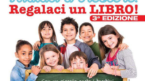 Regala un libro per arricchire le biblioteche delle scuole foggiane
