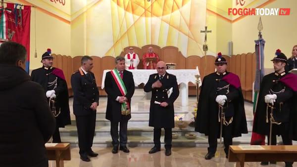 """Investito da uno scooter mentre era in servizio: il Comune di Foggia omaggia Pierluigi Rizzi """"per lo spirito di abnegazione"""""""