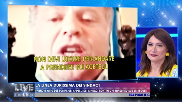 I tormentoni di Tutolo anche da Barbara d'Urso: il sindaco di Lucera star del Web...e nasce anche un fan club