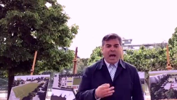 """Il Pantanella incendiato diventerà un parco polifunzionale. Landella: """"Esempio di città che è viva e non si ferma"""""""