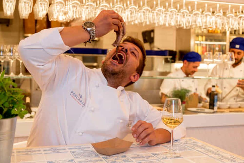Lo chef Lucio Mele