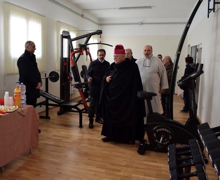 inaugurazione palestra casa circondariale Lucera (2)
